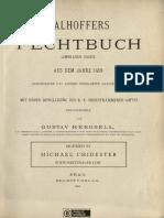 Talhoffers Fechtbuch (Ambraser Codex) Aus Dem Jahre 1459 (Hergsell)