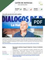 Boletín de noticias KLR 12ABR2016