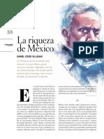 La riqueza de México