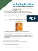Medical Coding Books