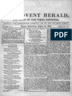 1844 The Advent Herald Volume 8 Issues 2,3,4,6,7,8,9,11,11a