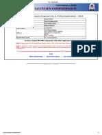 EhteSSC - Registration Slip