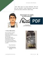 Homenagem ao Mário Eduardo Toscano Martelotta
