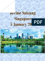 VIAJES DE SAI BABA POR EL MUNDO 2016 01 Singapore English
