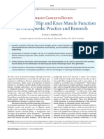 Assessment of Hip and Knee Muscle Function in Orthopedic