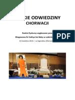 VIAJES DE SAI BABA POR EL MUNDO 2015 04 Croatia Polish