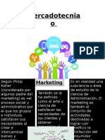 3 y 4 Mercadotecnia o Marketing
