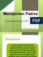 manajemen pasiva