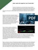 Lo que tienes que saber antes de negociar con el mercado Forex