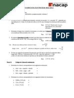 Guía de Ejercicios c1 Electricidad Aplicada