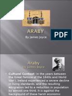 Araby James Joyce Unit 6