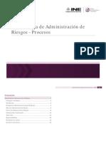 Metodologia de Administracion de Riesgos