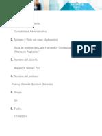 """Guía de análisis del Caso Harvard 1 """"Contabilidad para el iPhone en Apple Inc."""""""