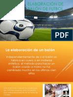 Elaboración de Balón de Futbol 1000