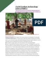 Explorations in Sri Lankan Archaeology With Raj Somadeva PART 2