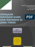 Kerajaan Mataram Kuno Dan Mataram Di Jawa Timur