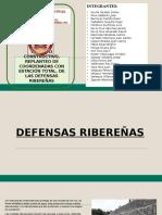 DEFENSAS - RIBEREÑAS