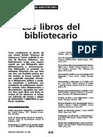 Los Libros Del Bibliotecario