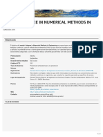 Master's Degree in Numerical Methods in Engineering (ETSECCPB)