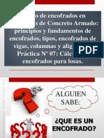 Construcciones II - Iiu - Encofrados--III