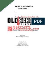 Parent Handbook 2015 2016