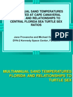 Multi Annual Sand Temperatures