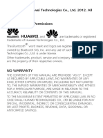 HUAWEI G5520 User Manual(G5520,V1.0,English,General Version,Single SIM)