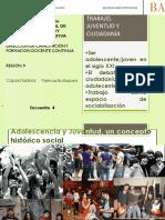 Trabajo, juventud y ciudadanía