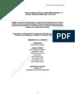 Comisión Voluntaria de Ignotos - Informe Final