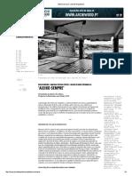 'Aleixo Sempre' _ Jornal Arquitectos