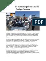 2016-04-12 Manifiestan en Municipios Su Apoyo a Enrique Serrano