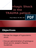 hemorrhagic shock autotxa