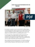 2016-04-11 Se Reune Serrano Con El Sector Productivo de Meoqui