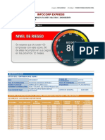 Modelo de reporte de Info Corp