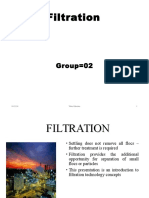 Filtration and Filter Types
