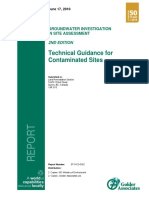 Technical Guidance for Contaminated Sites