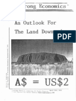 An Outlook for the Land Downunder 5-2-10