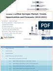 Global Prefilled Syringes Market