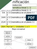 U02 Cinemática Lineal