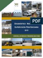 Diagnóstico Nacional de Supervisión Penitenciaria 2015 CNDH
