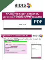 PPT Aplicativo Digitación Sigof