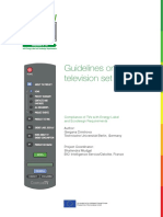 Guidelines on Television Set Testing (1)
