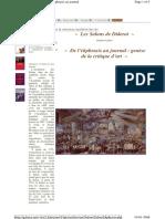 De l Ekphrasis Au Journal