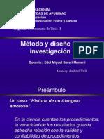 Tesis II-Método y diseño de investigación_Eddi Sucari