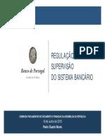 Regulação e Supervisão do Sistema Bancário