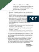 Estudio de Caso de La Empresa Air Filter
