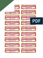 Citadel Colour Labels