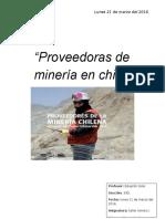 Proveedoras de Minería en Chile