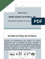 Aula 01 - Equipamentos Eletricos de Subestacoes