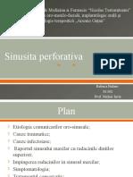 sinusita perforativa